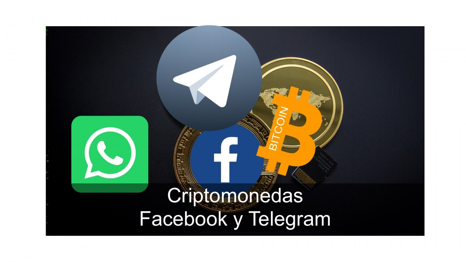 criptomonedas facebook y telegram