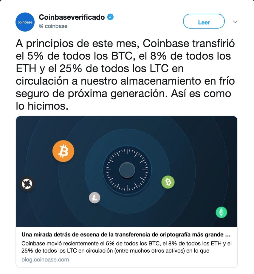 twitter coinbase